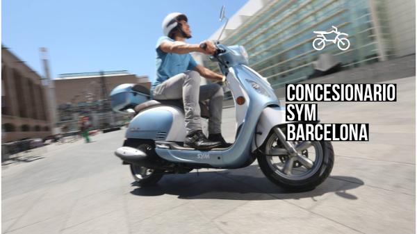 concesionario sym barcelona