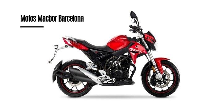 Motos Macbor Barcelona